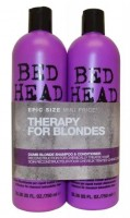 TIGI BED HEAD Dumb Blonde Tweens 2x 750 ml šampon in balzam