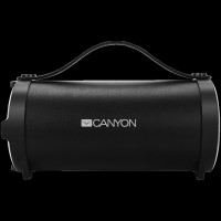 CANYON CNE-CBTSP6 Canyon Bluetooth Speaker, BT V4.2, Jieli AC6905A, TF card support, 3.5mm AUX, micro-USB port, 1500mAh polymer battery, Black, cable length 0.6m, 242*118*118mm, 0.834kg