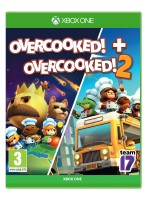 SOLD OUT SOFTWARE  Overcooked + Overcooked 2 Double Pack (Xone)