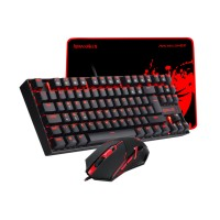 REDRAGON  GAMING SET 3 IN 1 COMBO REDRAGON K552-BA-2