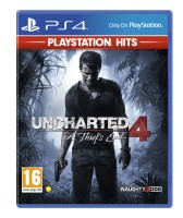 SONY COMPUTER ENTERTAINMENT   Uncharted 4: A Thiefs End - PlayStation Hits (PS4)