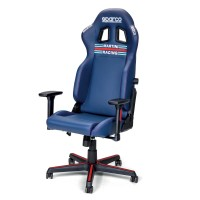 SPARCO  SPARCO ICON MARTINI RACING gaming stol modre barve