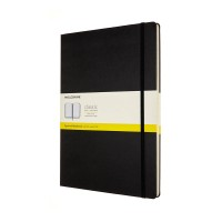 MOLESKIN M-602831 NOTEBOOK A4 SQUARED BLACK HARD COVER