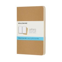 MOLESKIN M-719244 CAHIER JOURNALS PKT DOT KRAFT BROWN